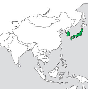 Pseudocamellia GlobalDistribution